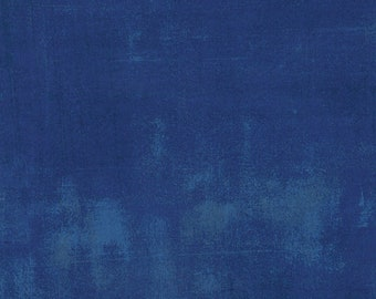 Grunge - Cobalt - 30150-223 -  Moda - Fabric - Sold by the Half Yard & Fat Quarter