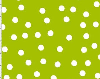 Jumbo Dots - Green/White - 692-283 - Loralie Designs - Fabric - Sold by the Half Yard & Fat Quarter