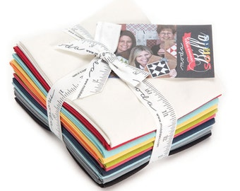 12 Designer Select Bella Bundle - Sweetwater - 12 pc. Fat Quarter Bundle - 9900ABSW - Moda - Fabric