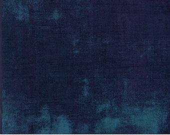 Grunge - Blue Steel - 30150 385 - Moda - Fabric - Sold by the Half Yard