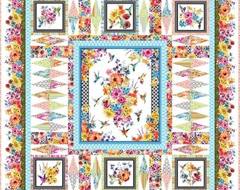 Hummingbird Lane Quilt Pattern from In The Beginnings Fabrics