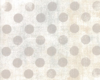 """108"""" Quilt Backing - Grunge - Hits the Spot - White Pap - 11131 11 - Moda - Fabric - BTY"""