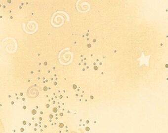 Glitter - Light Cream Metallic - Y0808-2M - Laurel Burch - Fabric - BTY, HY & FQ