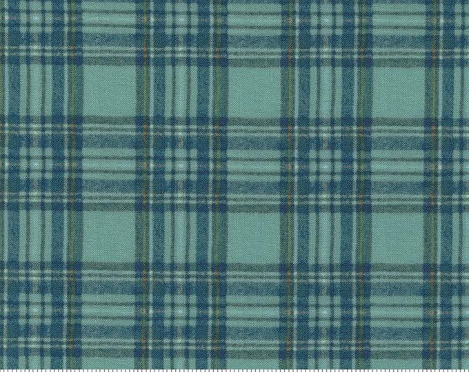 Outdoorsy - 7385 19 - Stream - Moda - Fabric - Sold by the Half Yard