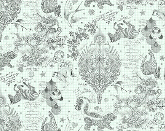 """Sketchyer - Paper - 108"""" Quilt Backing - QBTP005.PAPER - Tula Pink - Fabric - BTY"""