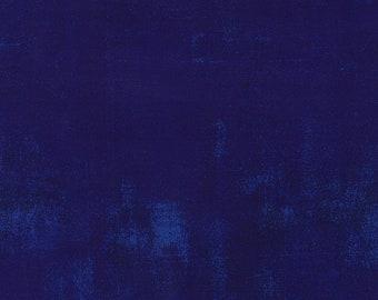 "108"" Quilt Backing Fabric - Grunge - Eggplant - 11108 245 - Moda - BTY"