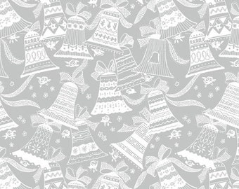 Holiday Village - Bells - 51774M-2 - Windham -  Fabric - Sold by the Half Yard