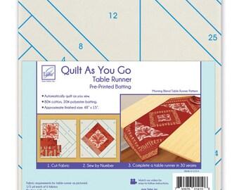 Quilt As You Go - Table Runner - Morning Brew - JT 1410 - Moda - Kit