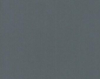 Graphite - Bella Solids - 9900 202 - Moda - Fabric - Sold by the Half Yard