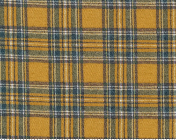 Outdoorsy - 7385 16 - Goldenrod - Moda - Fabric - Sold by the Half Yard