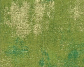Grunge Metallic - Zesty Apple - 30150 496M - Moda - Fabric - Sold by the Half Yard