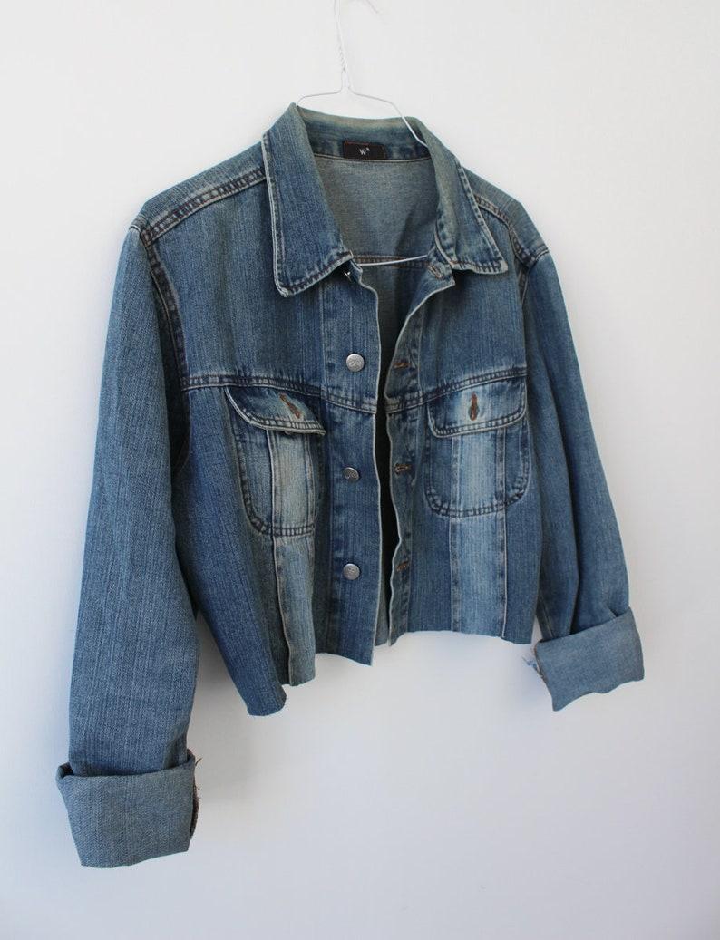 S Light Denim Jacket Women/'s