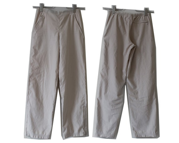 Cream White Nike Combat Pants Trousers Women's XS