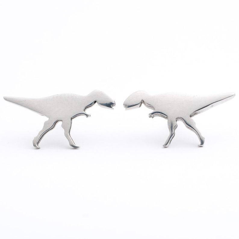 Dinosaur Stud Earrings image 0