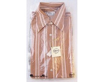 Deadstock Medici Men's Long Sleeve Shirt 1960's