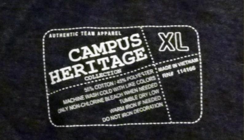 Vintage Tigers T Shirt Missouri Tigers Campus Heritage V Neck T-Shirt Size XL NOS