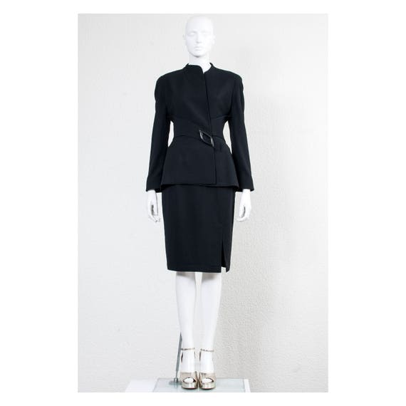 Rare vintage 1980s Thierry Mugler Couture power wi