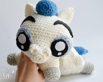 Crochet PATTERN No 1720 Pegasus pattern by Krawka,