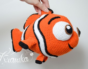 Free Finding Dory Inspired Beginner Crochet Pattern - Nemo ... | 270x340