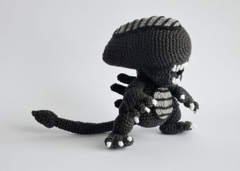 Crochet PATTERN No 1706 Alien by Krawka image 0