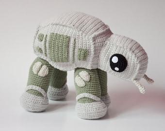 Crochet PATTERN No 1629- AT walker by Krawka