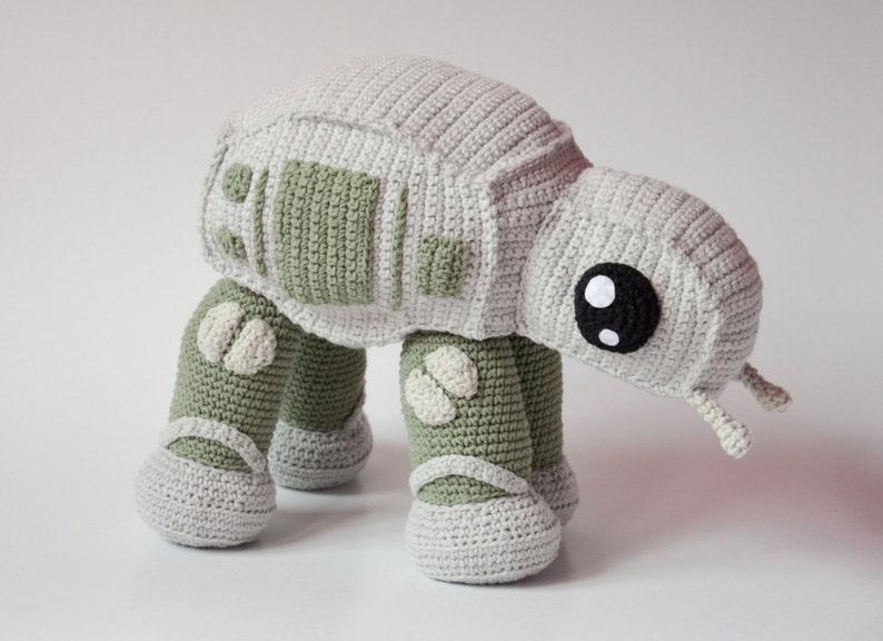 Crochet PATTERN No 1629 AT walker by Krawka image 0