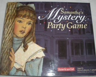 American Girl Samantha's Mystery Party Game 100% Complete Birthday & Bonus Book