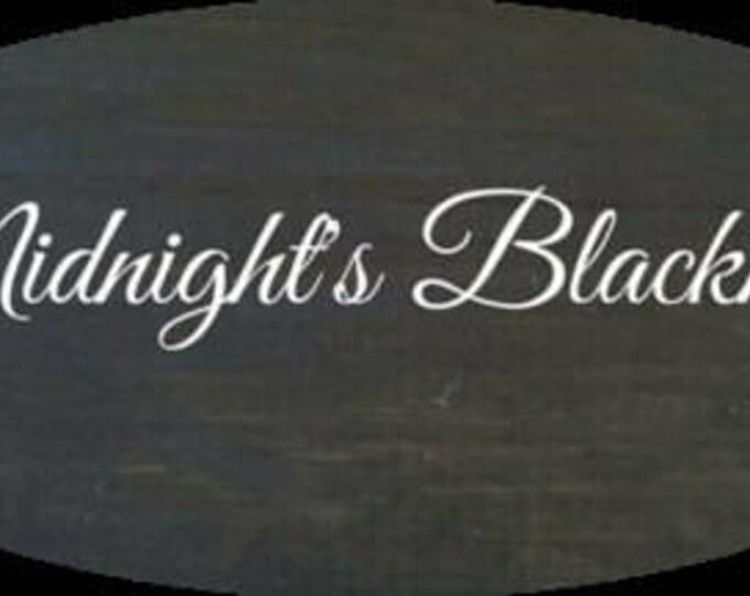 Unicorn SPiT 4 oz Gel Stain and Glaze in Midnight's Blackness