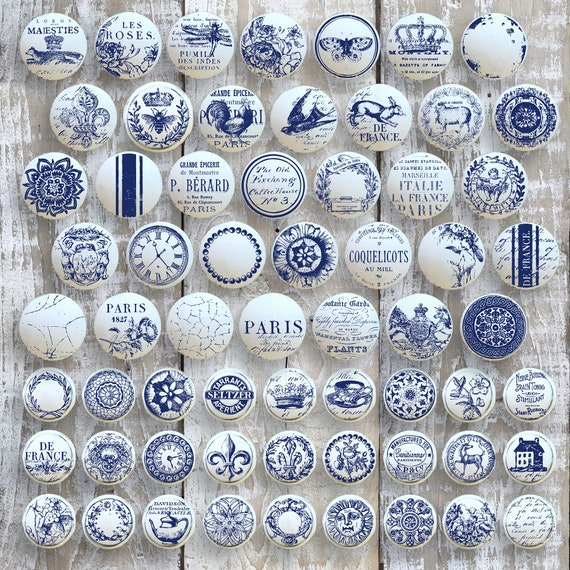 Knob Toppers - IOD Decor Stamps