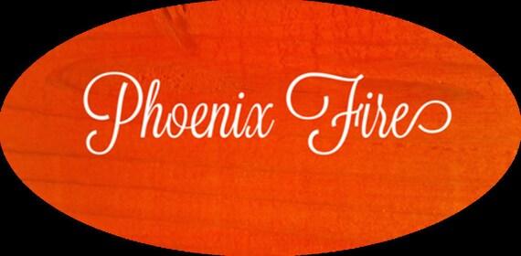 Unicorn SPiT 4 oz Gel Stain and Glaze in Phoenix Fire