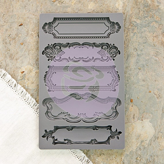 Iron Orchid Designs - Object Labels I & II - Moulds