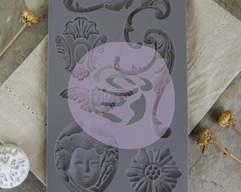 Iron Orchid Designs - Baroque 1 - Moulds
