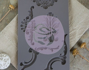 Iron Orchid Designs - Baroque 4 - Moulds