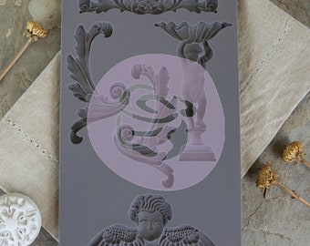 Iron Orchid Designs - Baroque 5 - Moulds
