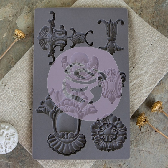 Iron Orchid Designs - Baroque 2 - Moulds