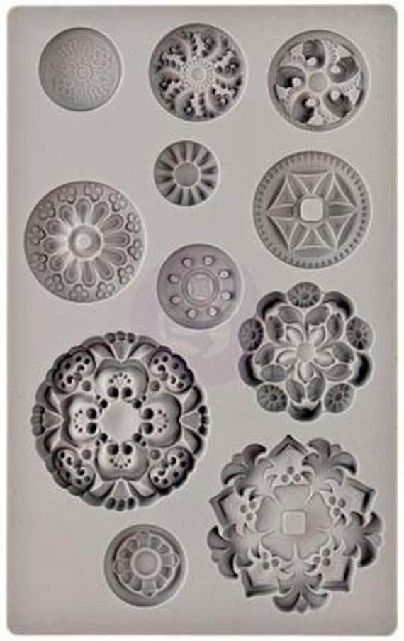 Iron Orchid Designs - Medallions - Moulds