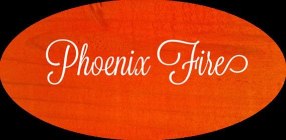 Unicorn SPiT 8 oz Gel Stain and Glaze in Phoenix Fire