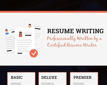 Professional Resume Writing Service | CV Writing | Custom Resume Design and Writing | Cover Letter Writing | Linkedin Profile Optimization