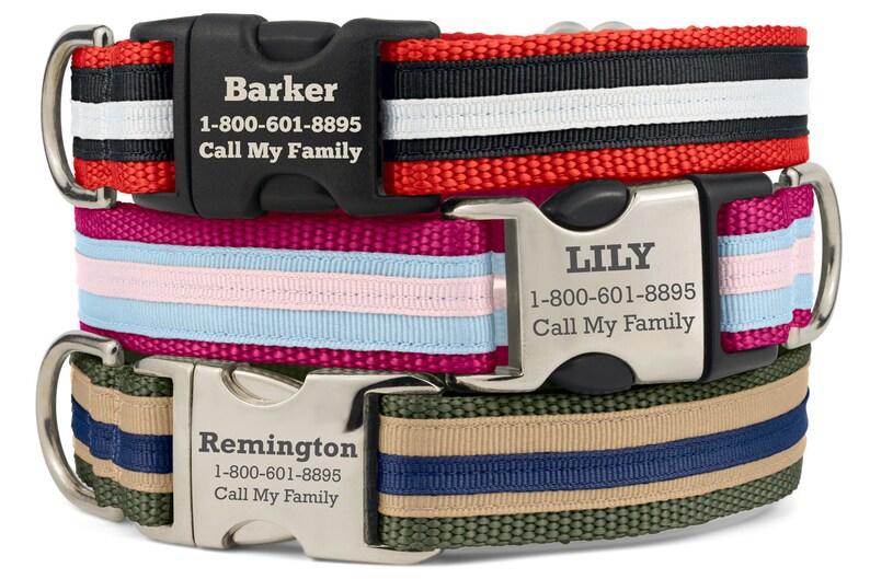 99d9b0f5efc7 Personalized Dog Collar Custom Dog Collar Engraved Dog   Etsy