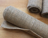 Shabby Chic Rustic Wedding Hessian Burlap Table Runner 200cm X 30cm