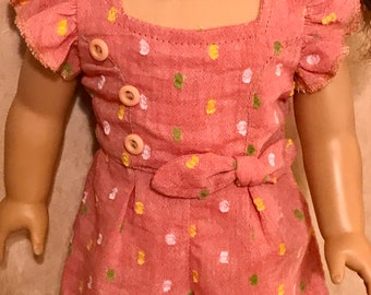 Romper for an 18 inch doll