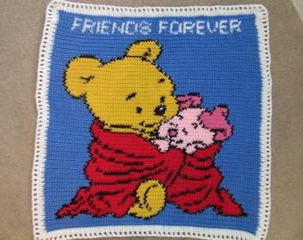 Friends Forever blanket