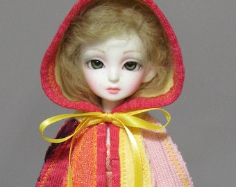 YoSD cloak in bold sunset colors
