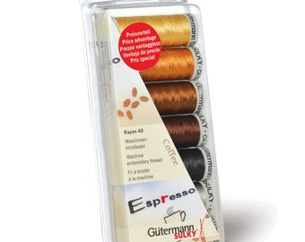 Gutermann Sew-All Thread T121 Shades 610 to 639 General Sewing Thread