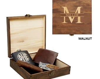 Wooden Cigar Box Etsy