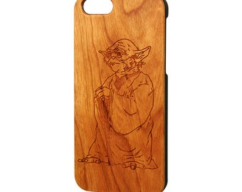 Star Wars iPhone 8 case, Wood iPhone 6s case, iPhone 5s case, Galaxy S5 wood case, Engraved iPhone 6 plus Case, Free Shipping