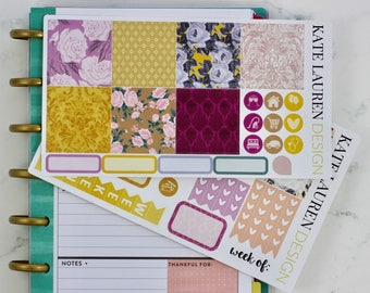 Autumn Darling Kit for the Mini Happy Planner, Happy Planner Mini Kit, Mini HP Kit, HP Mini Kit, Autumn Stickers, Autumn Planner