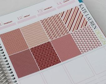 Anniversary Planner Stickers, Valentine's Day Planner, Valentine's Day Stickers, Valentine's Stickers