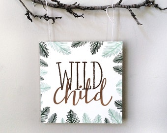 Wild Child - Hand Lettering Print