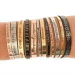 Personalized Bracelet, Custom Bracelet, Inspirational Gift, Engraved Cuff, Bridesmaid Bracelets, Stacking Bracelets, Gift For Her, Jewelry